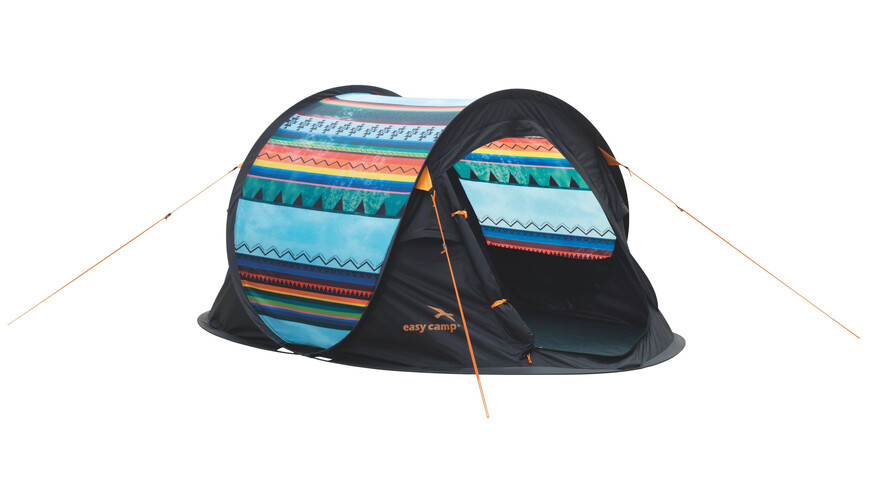 Easy Camp Antic Tribal Colour tent blauw